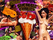 Shemale comics 3D